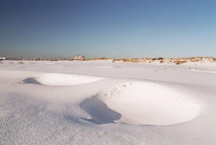 Snowbound bunkers