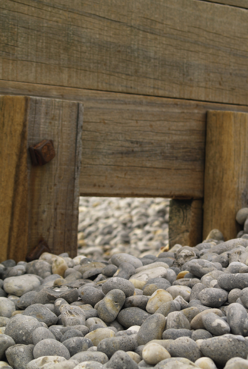 Pebble Beaten Groynes